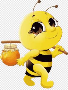 png-clipart-pick-honey-bees-cartoon-honey