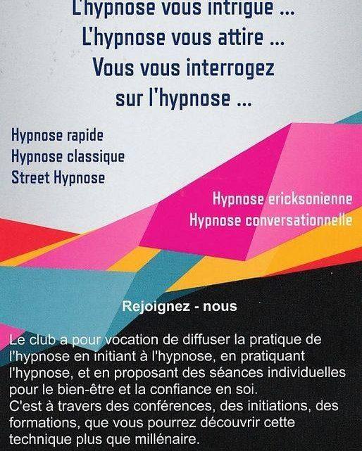 CLUB D'HYPNOSE LA VOIE DE L'INCONSCIENT